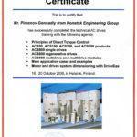 Сертифікати та документи