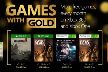 octubre games with gold