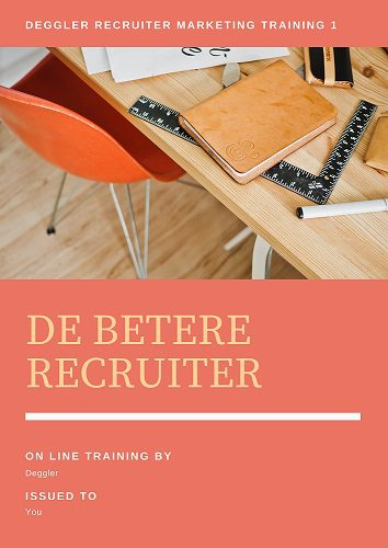 De Beter Recruiter training