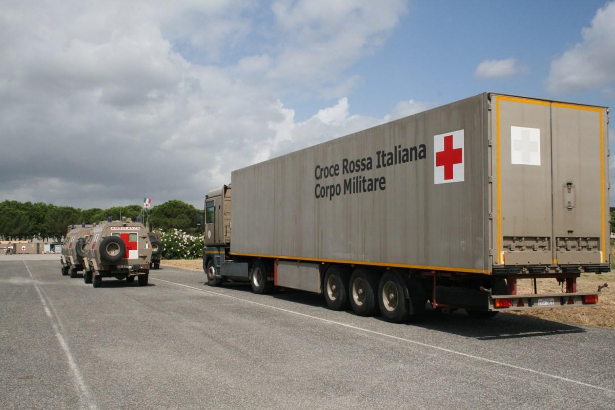 Croce Rossa: giù le mani dal Corpo Militare