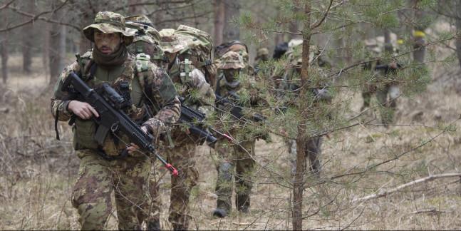 Missione in Lettonia: conclusa esercitazione Claymore Soring