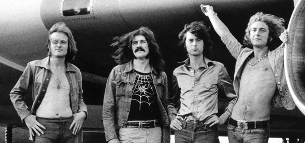 """In the days of my youth"": 50 anni fa i Led Zeppelin sotto le puntine."