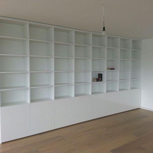Boekenkast Op Maat Gemonteerd In Amsterdam