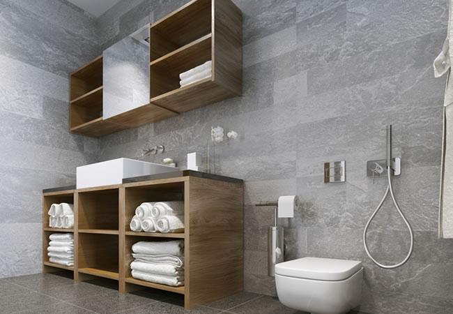 Inbouwkast badkamer