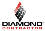 Diamond contractor logo