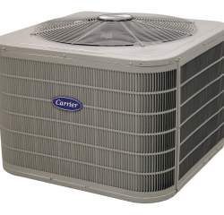 Carrier air conditioning unit from Degree Heating and Cooling.
