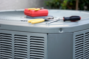 HVAC equipment from Degree Heating & Cooling.