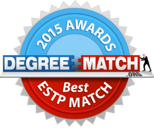 DegreeMatch.org - 2015 Awards - Best ESTP Match