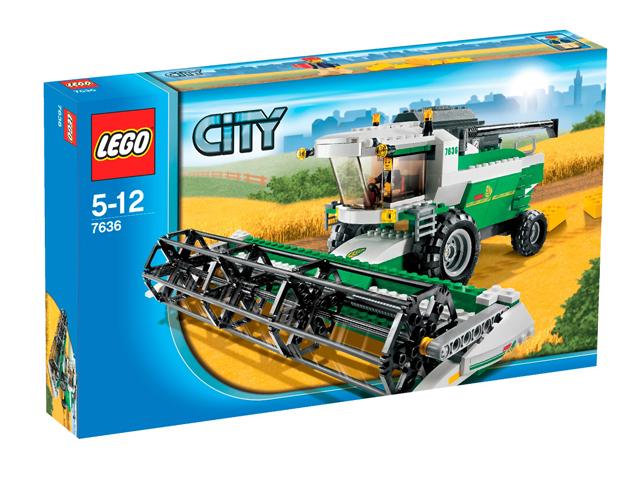 vergroot 7636 lego combine oogstmachine