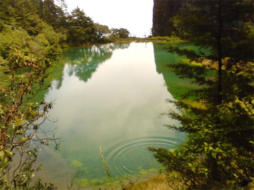 Laguna Magdalena, Comunidad Magdalena, Chiantla, Huehuetenango, Guatemala. Imágen 1