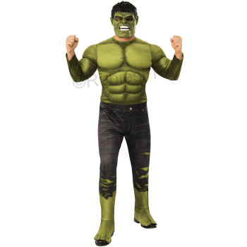 deguisement hulk luxe officiel avengers adulte