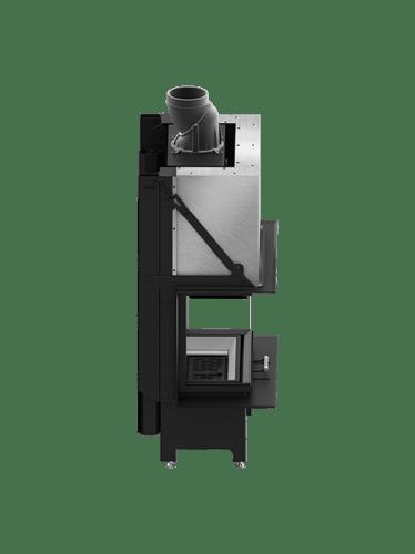 Hitze trinity 3-zijdig 80x35x35 G liftdeur