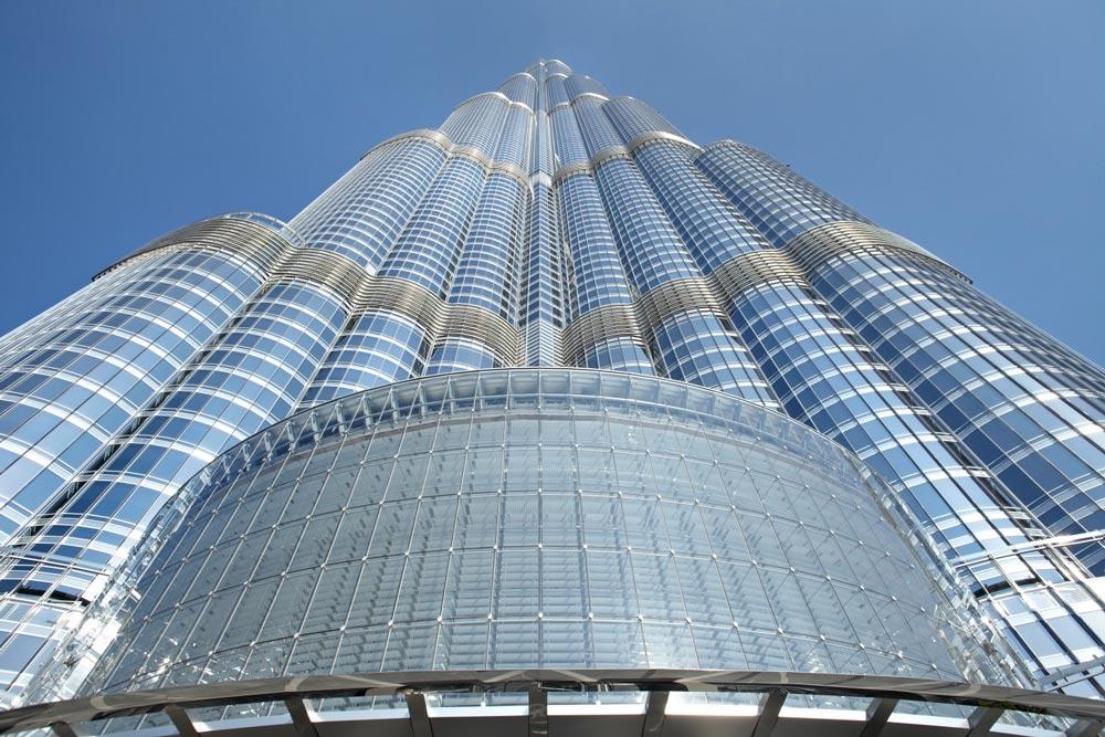 Burj Khalifa: são 828 metros de altura com 160 andares