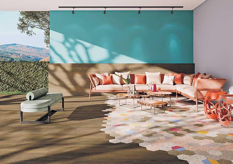 Revestimentos decorados trazem infinitas possibilidades de composição