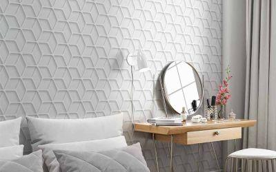 Prático e moderno, papel de parede é uma ótima opção para renovar os ambientes