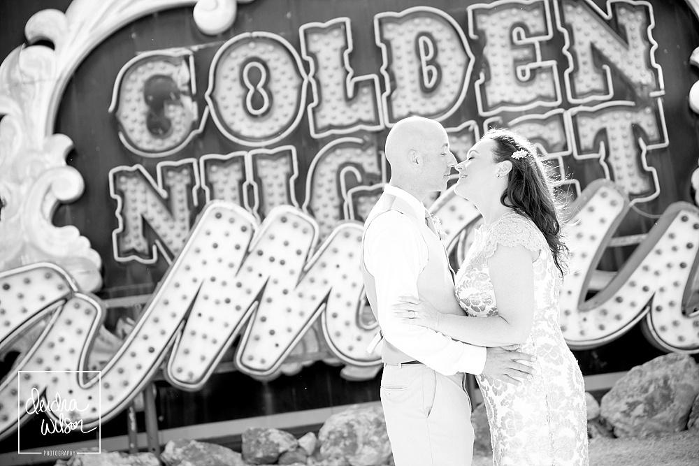 Las Vegas Wedding at the Neon Museum