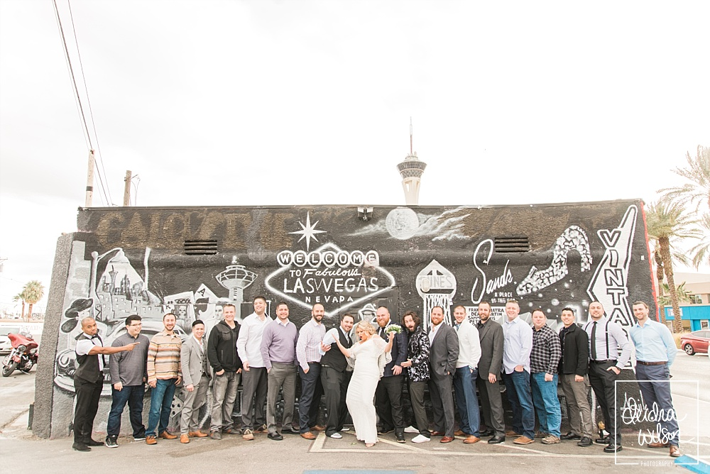 Las Vegas Elopement - A Little White Wedding Chapel