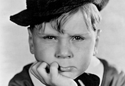 """The Little Rascals"" — Jackie Cooper"