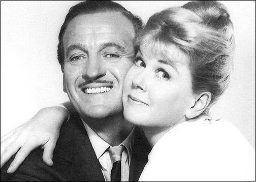 "Doris Day and David Niven ""Please Don't Eat the Daisies"""