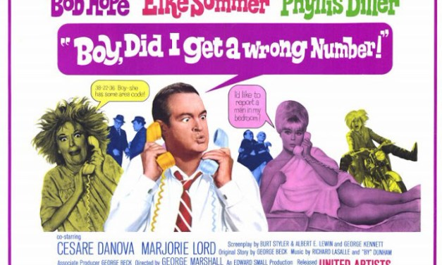 """Bob Hope in """"Boy Did I Get a Wrong Number"""""""