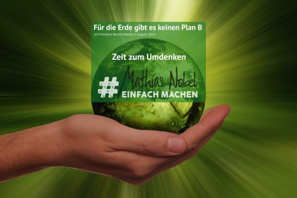 Zeit zum Umdenken Mathias Nobel