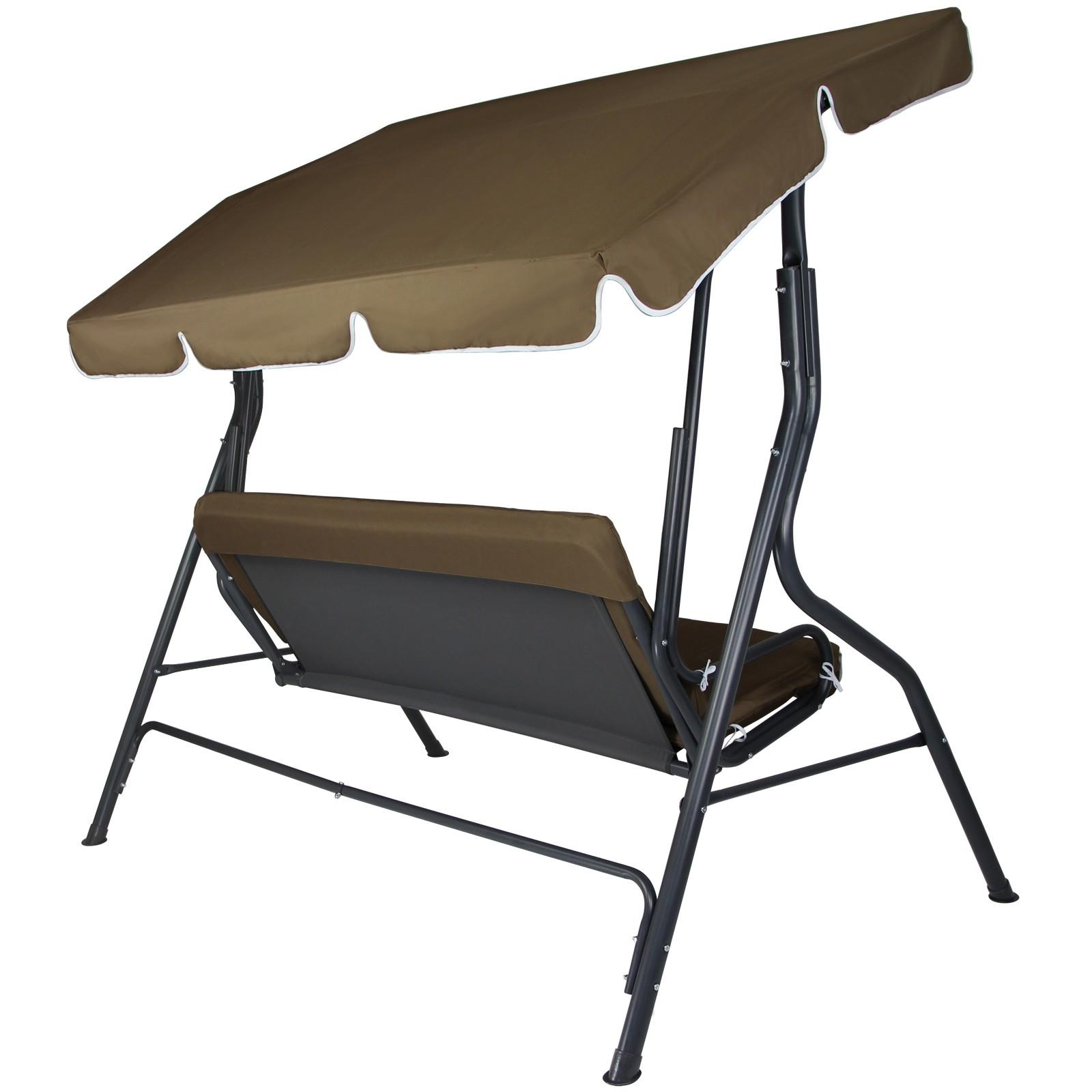 3 Seater Garden Hammock Swing Seat Cesena Patio Bench