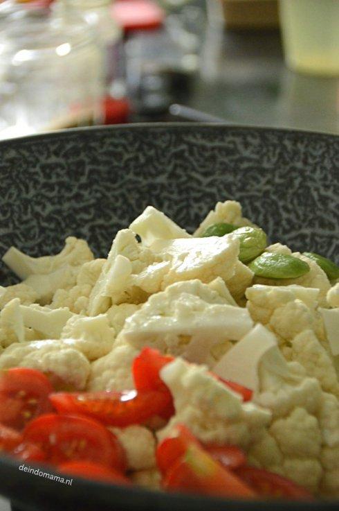 Sambal- goreng-bloemkool