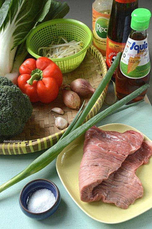 ingrediënten- biefstuk- met- oestersaus