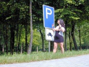 versaut auf dem parkplatz 20