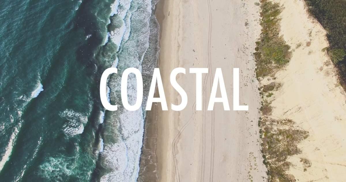 coastal immer an der kueste lang