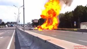 lkw unfall mit gas oder sauersto