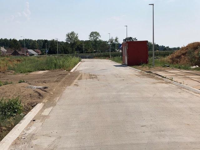 IMG_3975 Bouw van sociale koopwoningen in Bachte-Maria-Leerne (Deinze) gestart