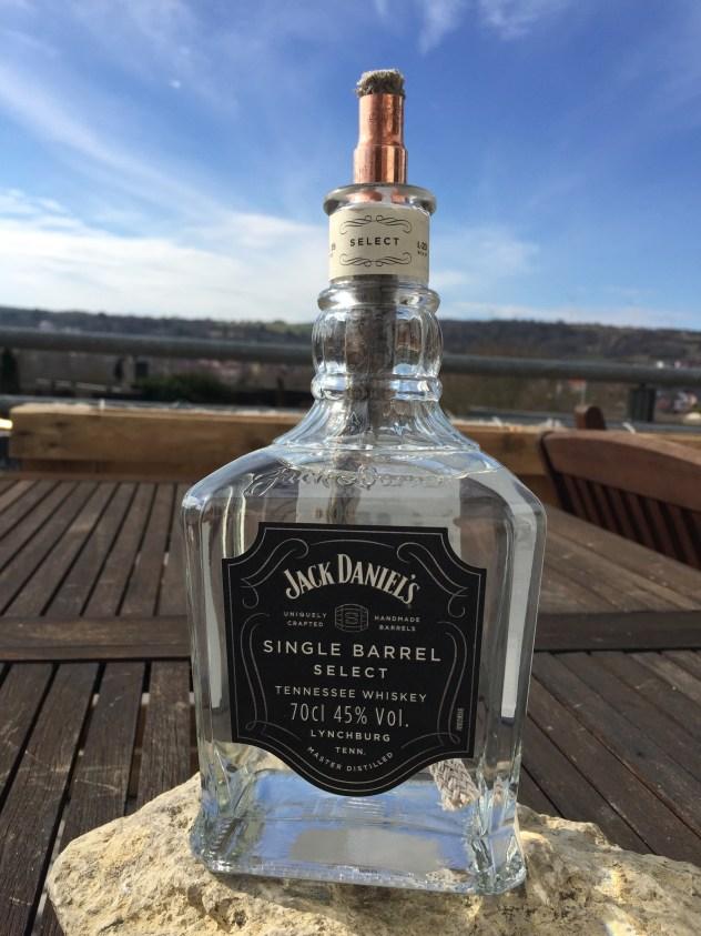 DIY JACK DANIELS Petroliumlampe