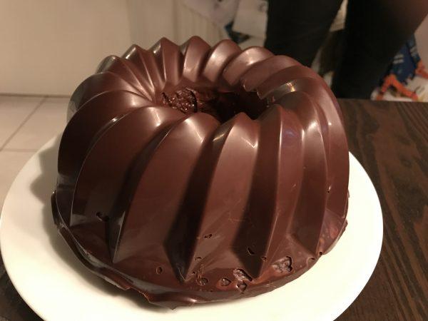 Plätzchen-Reste-Kuchen aus der Silikon-Gugelhupf-Form