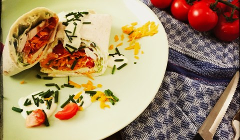 Chicken-Avocado-Wrap