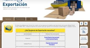 Servicio de transporte internacional urgente de Correos