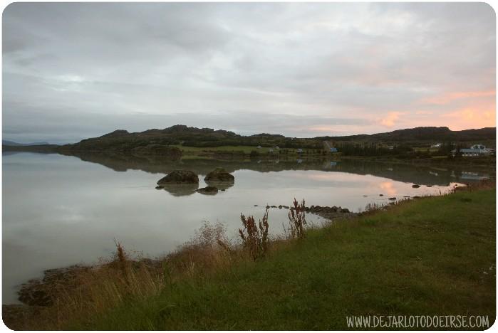 lago lagarflojt islandia