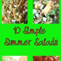 Summer Salads 10 easy recipes