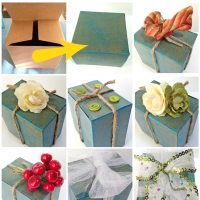 Decorate gift box ideas: 8 easy ways!
