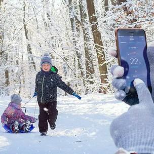 Je verwarming hoger zetten na een dagje in de sneeuw.