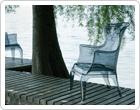 Design stoel buiten