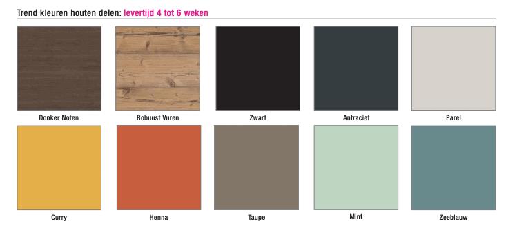 Kleuren Homefit