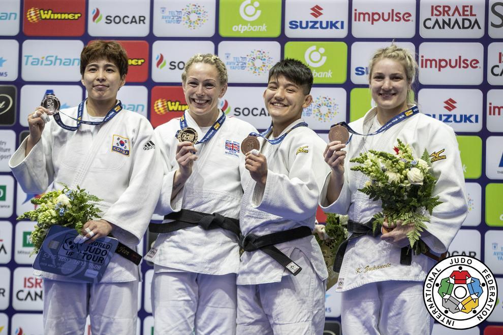 Ai Tsunoda medalla de bronce en Grand Prix