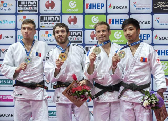 Alberto Gaitero medalla de oro en Zagreb