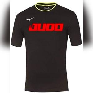 Camiseta judo de mizuno