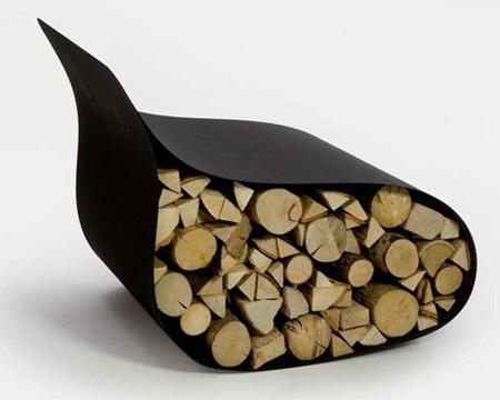 Стул с дровами