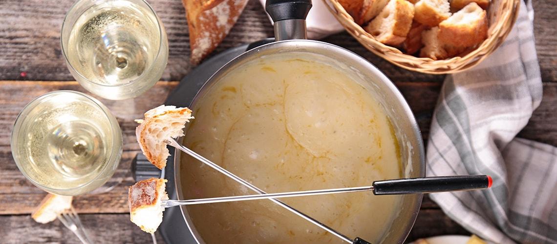 Schapenkaas fondue recept