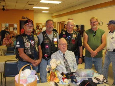 Tony Berg with Warriors Watch Riders