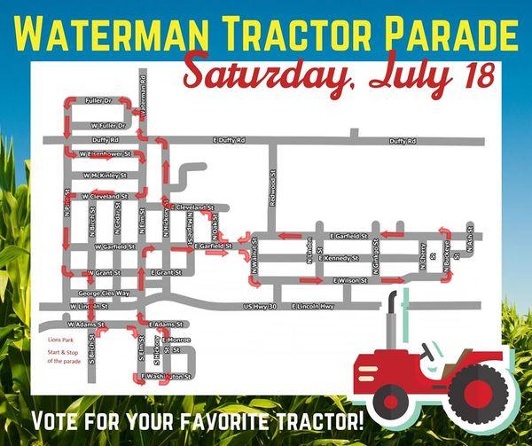 Playcation: DeKalb County Farm Bureau Tractor Parade