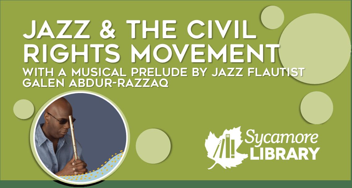 Jazz Flautist Galen Abdur-Razzaq, On Jazz And The Civil Rights Movement